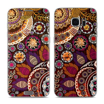 Samsung Galaxy S7 Edge Skin - Autumn Mehndi