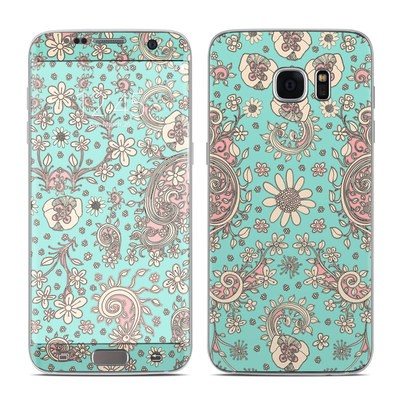 Samsung Galaxy S7 Edge Skin - Birds Of A Flower