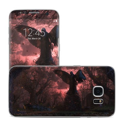 Samsung Galaxy S7 Edge Skin - Black Angel