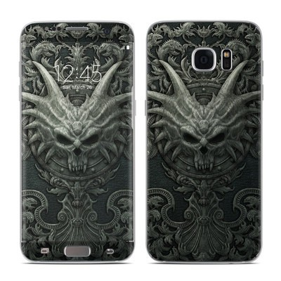 Samsung Galaxy S7 Edge Skin - Black Book