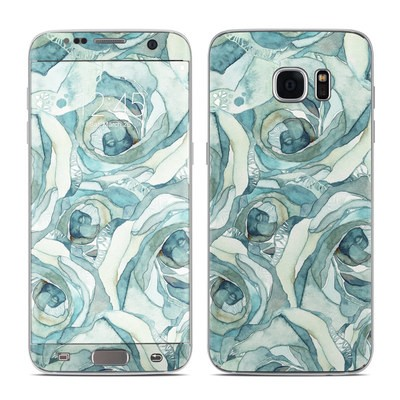 Samsung Galaxy S7 Edge Skin - Bloom Beautiful Rose