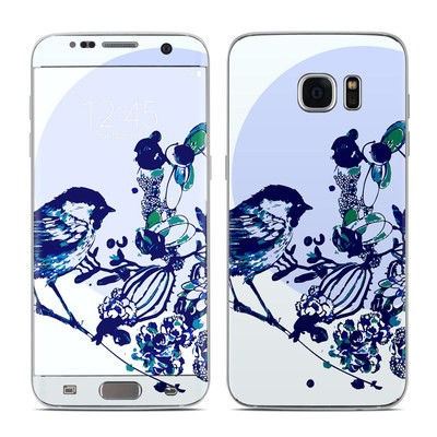 Samsung Galaxy S7 Edge Skin - Bluebird