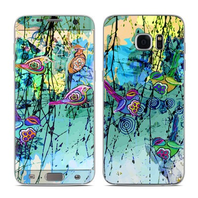 Samsung Galaxy S7 Edge Skin - Blue Evening
