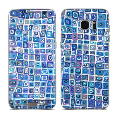 Samsung Galaxy S7 Edge Skin - Blue Monday
