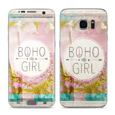 Samsung Galaxy S7 Edge Skin - Boho Girl