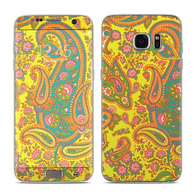 Samsung Galaxy S7 Edge Skin - Bombay Chartreuse