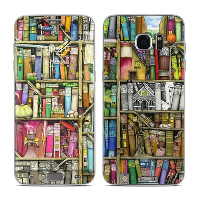 Samsung Galaxy S7 Edge Skin - Bookshelf