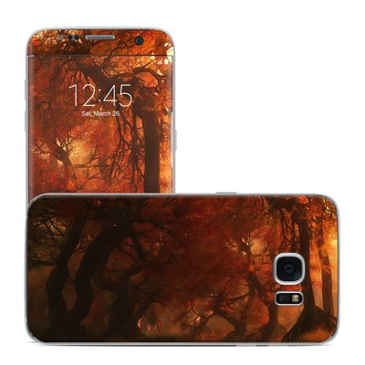 Samsung Galaxy S7 Edge Skin - Canopy Creek Autumn