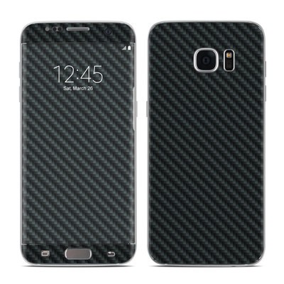 Samsung Galaxy S7 Edge Skin - Carbon