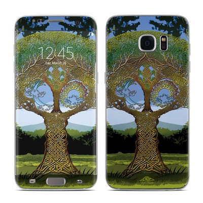 Samsung Galaxy S7 Edge Skin - Celtic Tree