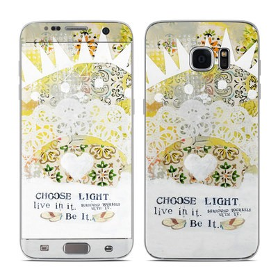 Samsung Galaxy S7 Edge Skin - Choose Light