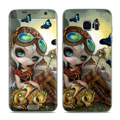 Samsung Galaxy S7 Edge Skin - Clockwork Dragonling