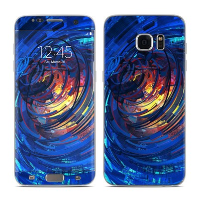 Samsung Galaxy S7 Edge Skin - Clockwork