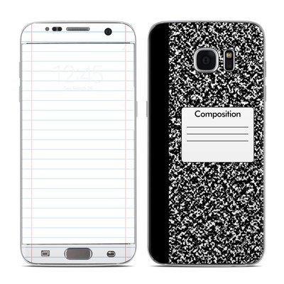 Samsung Galaxy S7 Edge Skin - Composition Notebook