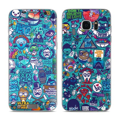 Samsung Galaxy S7 Edge Skin - Cosmic Ray