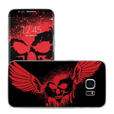 Samsung Galaxy S7 Edge Skin - Dark Heart Stains