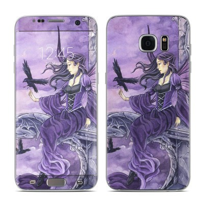 Samsung Galaxy S7 Edge Skin - Dark Wings