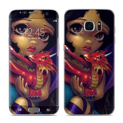 Samsung Galaxy S7 Edge Skin - Darling Dragonling