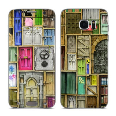 Samsung Galaxy S7 Edge Skin - Doors Closed