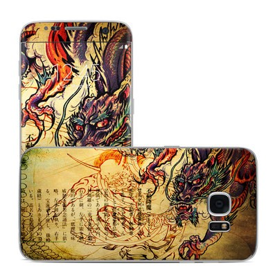 Samsung Galaxy S7 Edge Skin - Dragon Legend