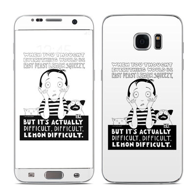 Samsung Galaxy S7 Edge Skin - Easy Peasy