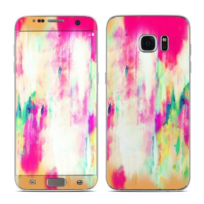 Samsung Galaxy S7 Edge Skin - Electric Haze