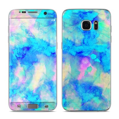 Samsung Galaxy S7 Edge Skin - Electrify Ice Blue