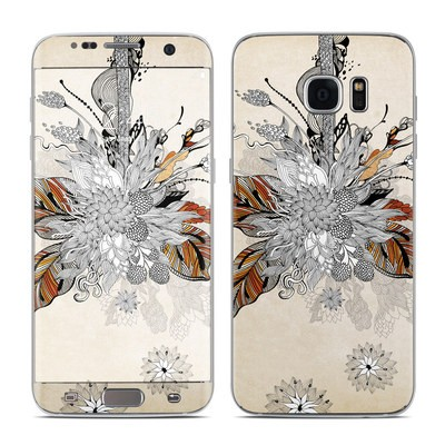 Samsung Galaxy S7 Edge Skin - Fall Floral