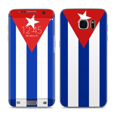 Samsung Galaxy S7 Edge Skin - Cuban Flag