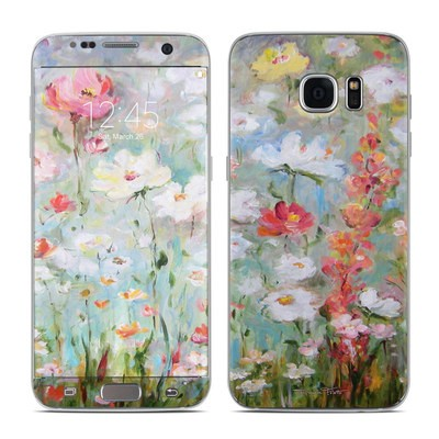 Samsung Galaxy S7 Edge Skin - Flower Blooms