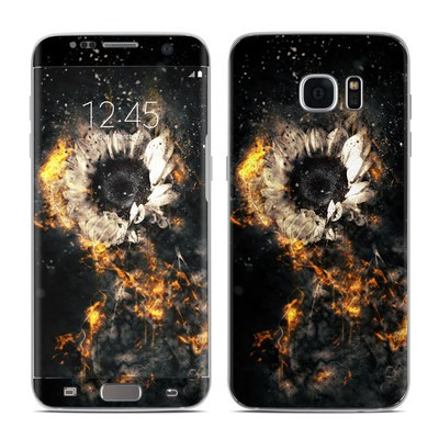 Samsung Galaxy S7 Edge Skin - Flower Fury