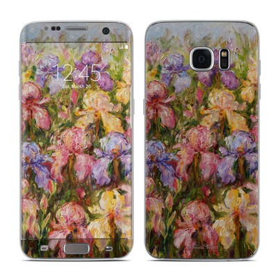 Samsung Galaxy S7 Edge Skin - Field Of Irises