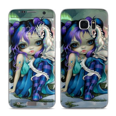 Samsung Galaxy S7 Edge Skin - Frost Dragonling