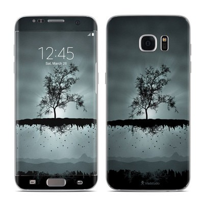 Samsung Galaxy S7 Edge Skin - Flying Tree Black