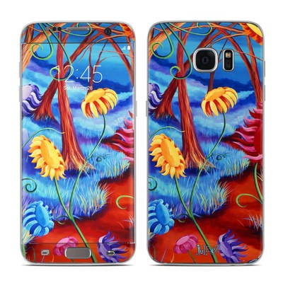Samsung Galaxy S7 Edge Skin - Forest Whispers