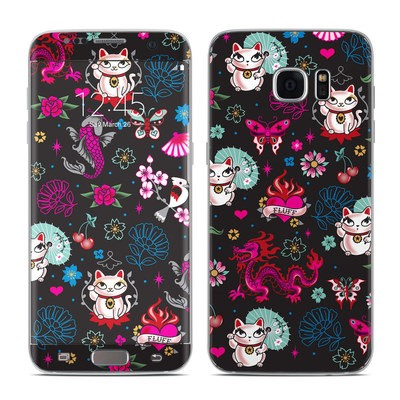 Samsung Galaxy S7 Edge Skin - Geisha Kitty
