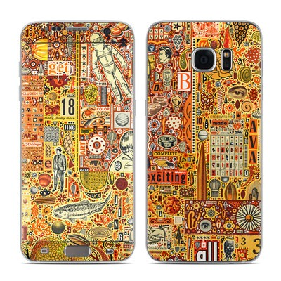 Samsung Galaxy S7 Edge Skin - The Golding Time