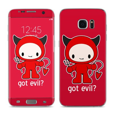 Samsung Galaxy S7 Edge Skin - Got Evil