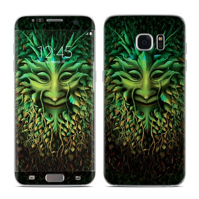 Samsung Galaxy S7 Edge Skin - Greenman