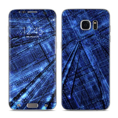 Samsung Galaxy S7 Edge Skin - Grid