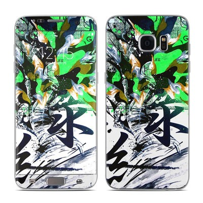 Samsung Galaxy S7 Edge Skin - Green 1