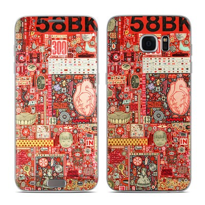 Samsung Galaxy S7 Edge Skin - Heart and Teeth