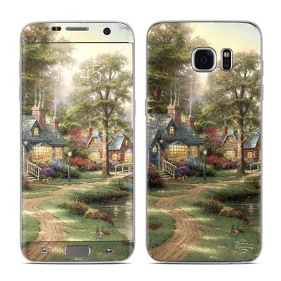 Samsung Galaxy S7 Edge Skin - Hometown Lake