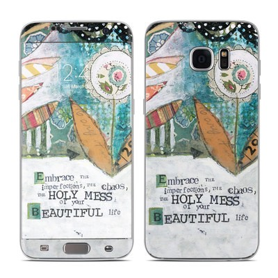 Samsung Galaxy S7 Edge Skin - Holy Mess