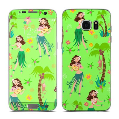 Samsung Galaxy S7 Edge Skin - Hula Honey