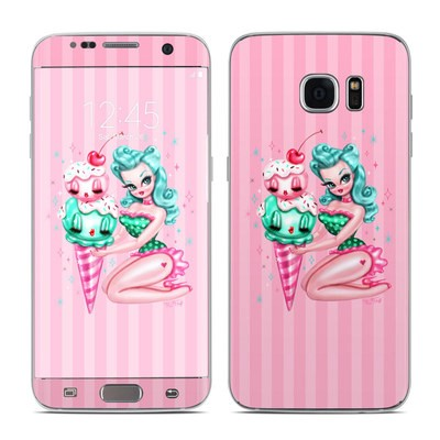 Samsung Galaxy S7 Edge Skin - Ice Cream