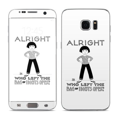 Samsung Galaxy S7 Edge Skin - Bag of Idiots