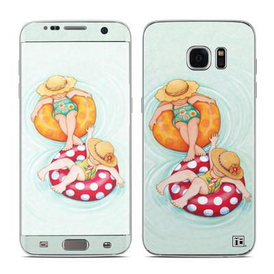 Samsung Galaxy S7 Edge Skin - Inner Tube Girls