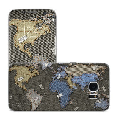 Samsung Galaxy S7 Edge Skin - Jean Map