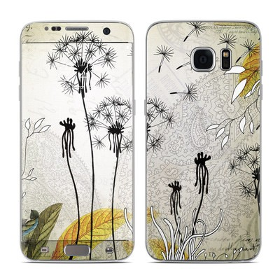 Samsung Galaxy S7 Edge Skin - Little Dandelion